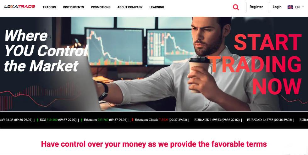 Lexa Trade opinie, bonus dla nowych, płatności, demo, inwestycje